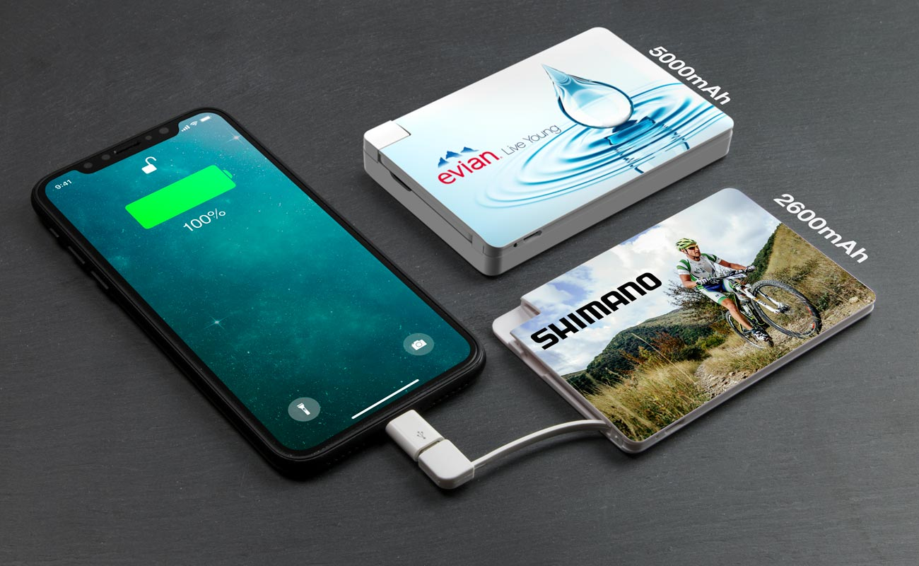 Card - Custom Portable Charger