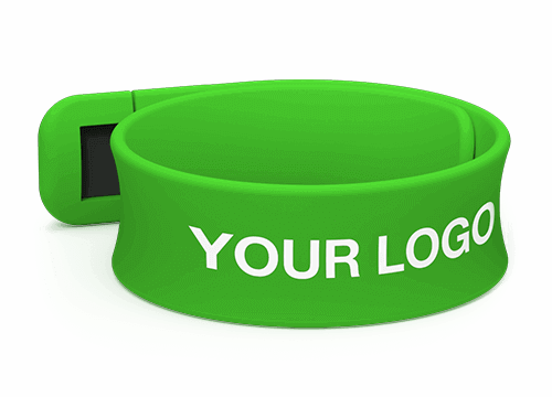 Slap - Branded USB Wristband