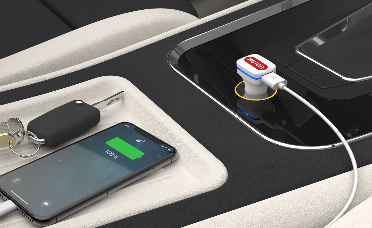 Vista - Branded Car Charger