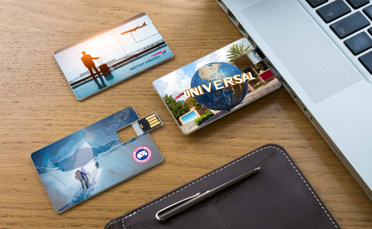 Wafer - Credit Card USB