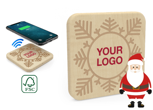 Forest Christmas - Wireless Charger Wholesale