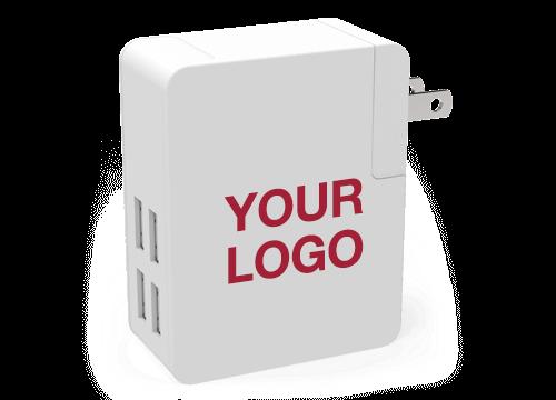 Latitude - Custom Branded Travel Adaptor