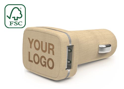 Woodie - Logo Car Chargers