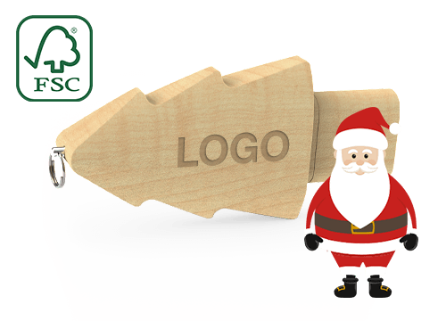 Christmas - USB Logo
