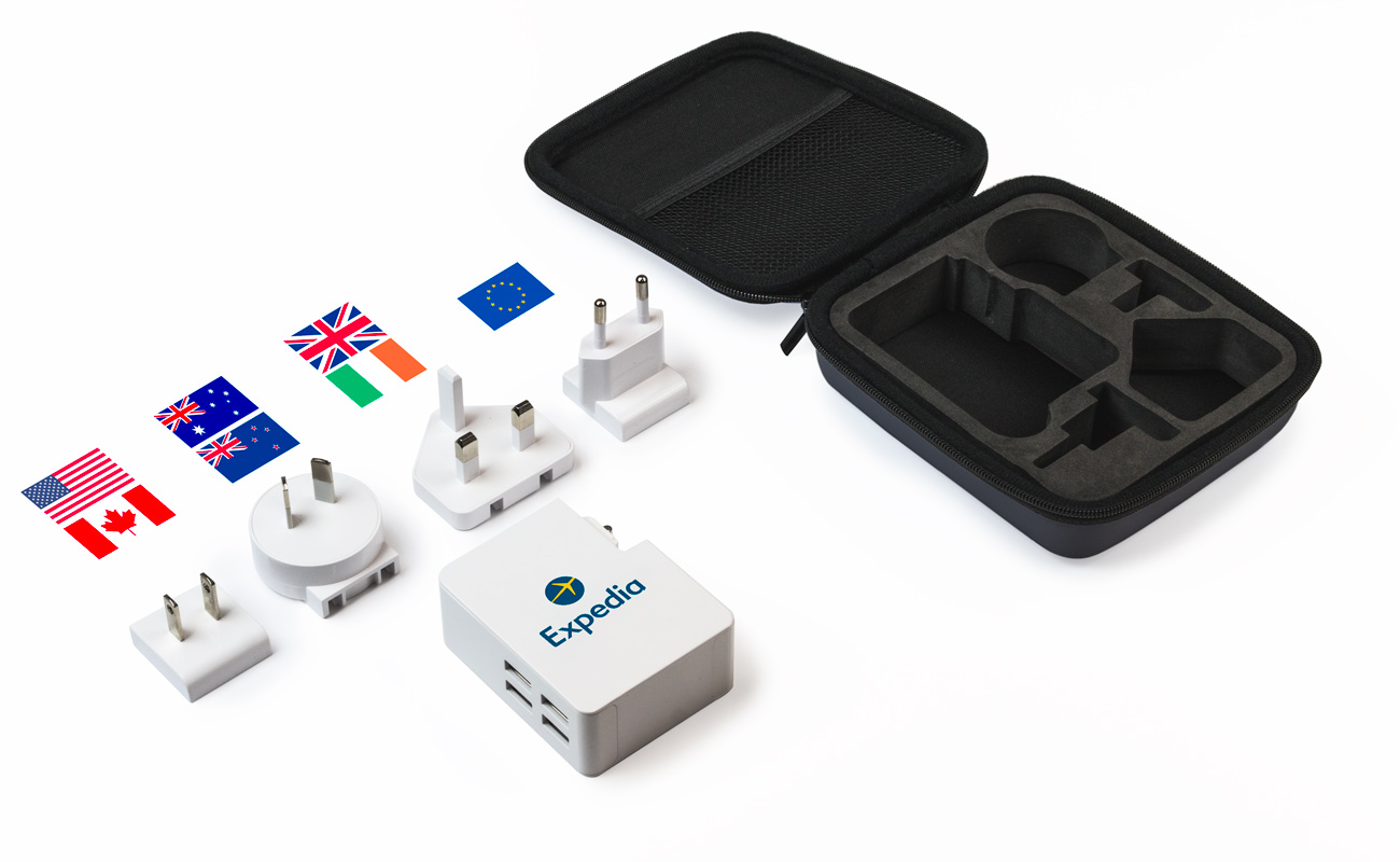 Latitude - Branded Travel Adaptors