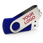 Branded usb sticks usb business cards ready in just 5 days twister personalised usb reheart Image collections